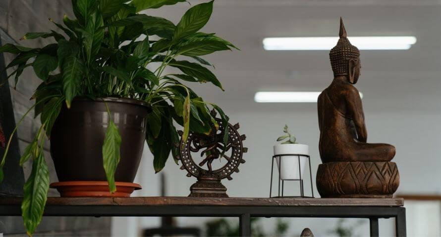 comment placer la statue de bouddha dans sa maison