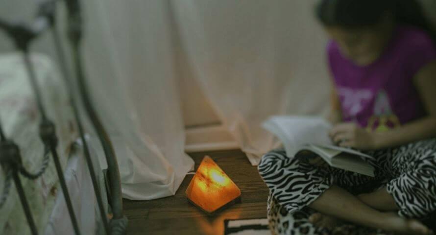 lampe de chevet cristal