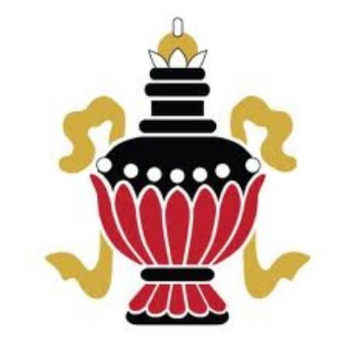 Symbole Bouddhiste - Vase aux trésors
