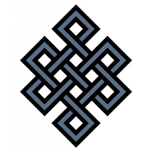 Noeud infini - symbole équilibre - symbole karma
