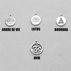 Collier Prière Bouddhiste Mala - Mala Tibétain - Sept Chakras