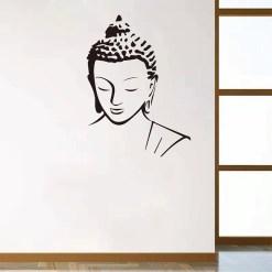 Stickers Bouddha Zen - Décoration zen - sept chakras
