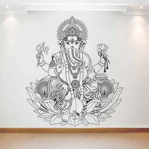 Stickers Zen Méditation - Décoration zen - sept chakras