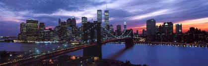 Click on the World Trade Center and New York City skyline to order this art image from art.com.