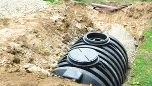 What a septic tank looks like