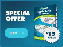 Special Offer on Septic Tank Maintenance