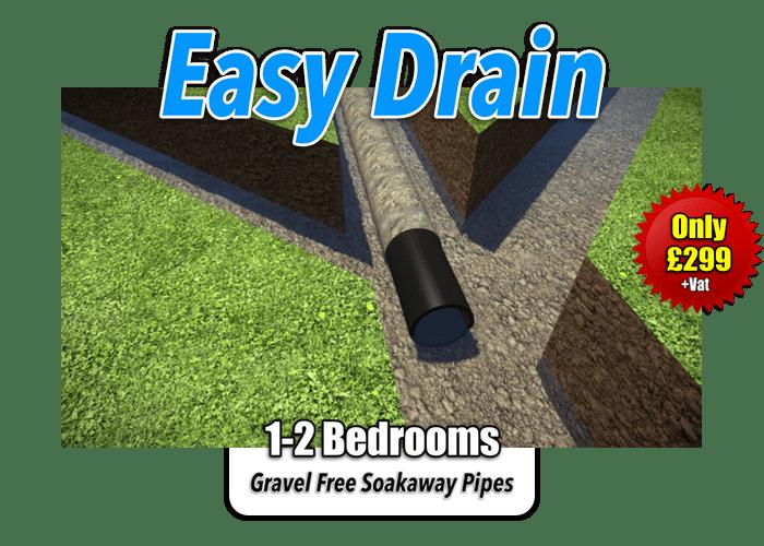 Easy Drain Soakaway Kit 1-2 Bedroom