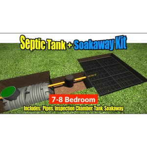 Septic Tank Soakaway Kit 7-8 Bedroom