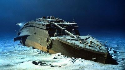 タイタニック海底