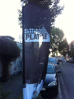 platine flagge