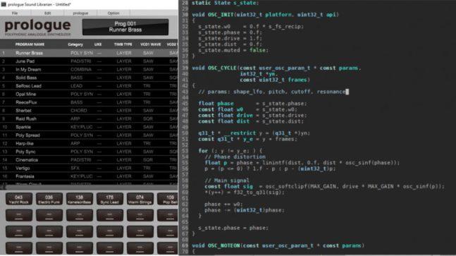 Prologue coding