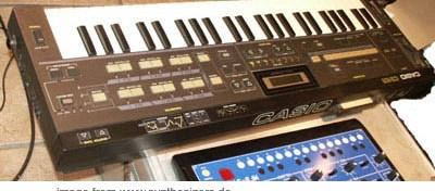 casio CZ synthesizer
