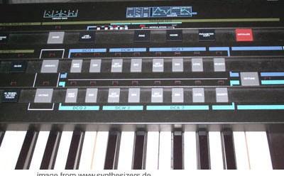 casio CZ-1 synthesizer