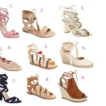 Currently Coveting: Lace Up Sandals