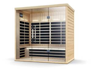 Finnleo S830 Glass Door Sauna