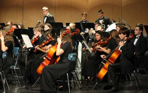 Orchestra, Band Fall Concert Displays Changes