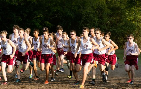 Boys Cross Country Dash for First