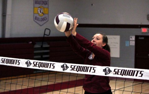 Sequoit Volleyball Fights for a Victory Over the Knights