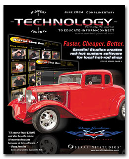Midwest Technology Journal cover story for June 2004