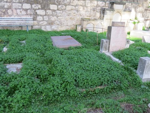 Tyhe unmarked grave of Joan Winters has, at least been identified by Rahel Jaskow.