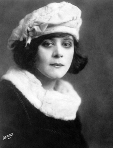 Theda Bara, born Theodosia Goodman, was a nice Jewish Girl form Cincinnati who transformed herself into cinema's first femme fatale, the man-eating vamp. Tragically, most of her films were destroyed in a fire.