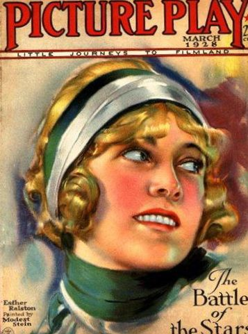 Esther ralston on the cover of Picture Play magazine, 1928