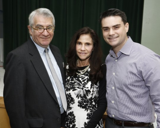 Me, Karen, and Ben Shapiro at the Ariel Avrech Memorial Lecture Photo by: Steve Cohn www.stevecohnphotography.com (310) 277-2054 © 2016 Steve Cohn Photography