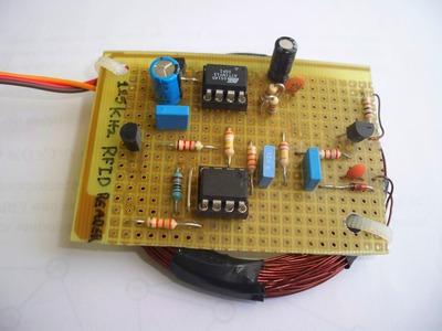 125 kHz RFID reader