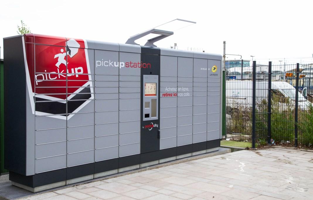 pickup station - La Poste