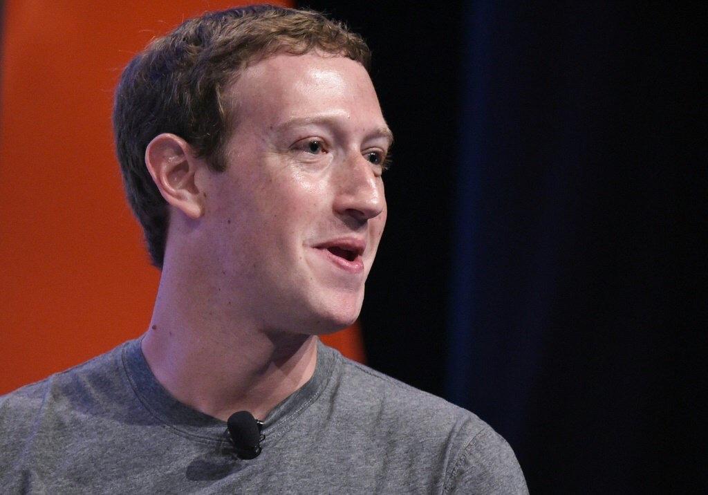 Le patron de Facebook Mark Zuckerberg, lors d'un sommet de dirigeants à l'université de Stanford, le 24 juin 2016© AFP/Archives MANDEL NGAN