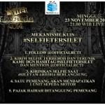 Selfie Saat Silet Awards 2014 Berhaidah 1 Sepeda Motor