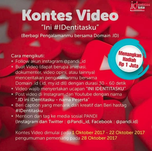 Kontes Video ini Identitasku