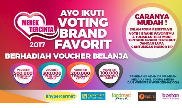 Voting Brand Favoritmu