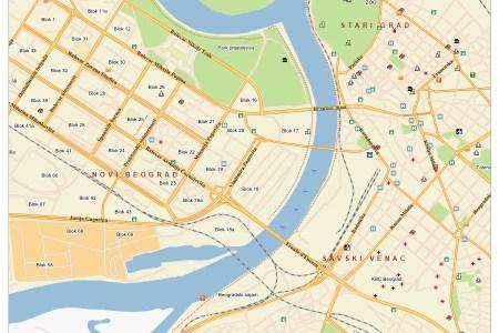 auto mapa beograda sa ulicama map beograda auto mapa beograda sa ulicama