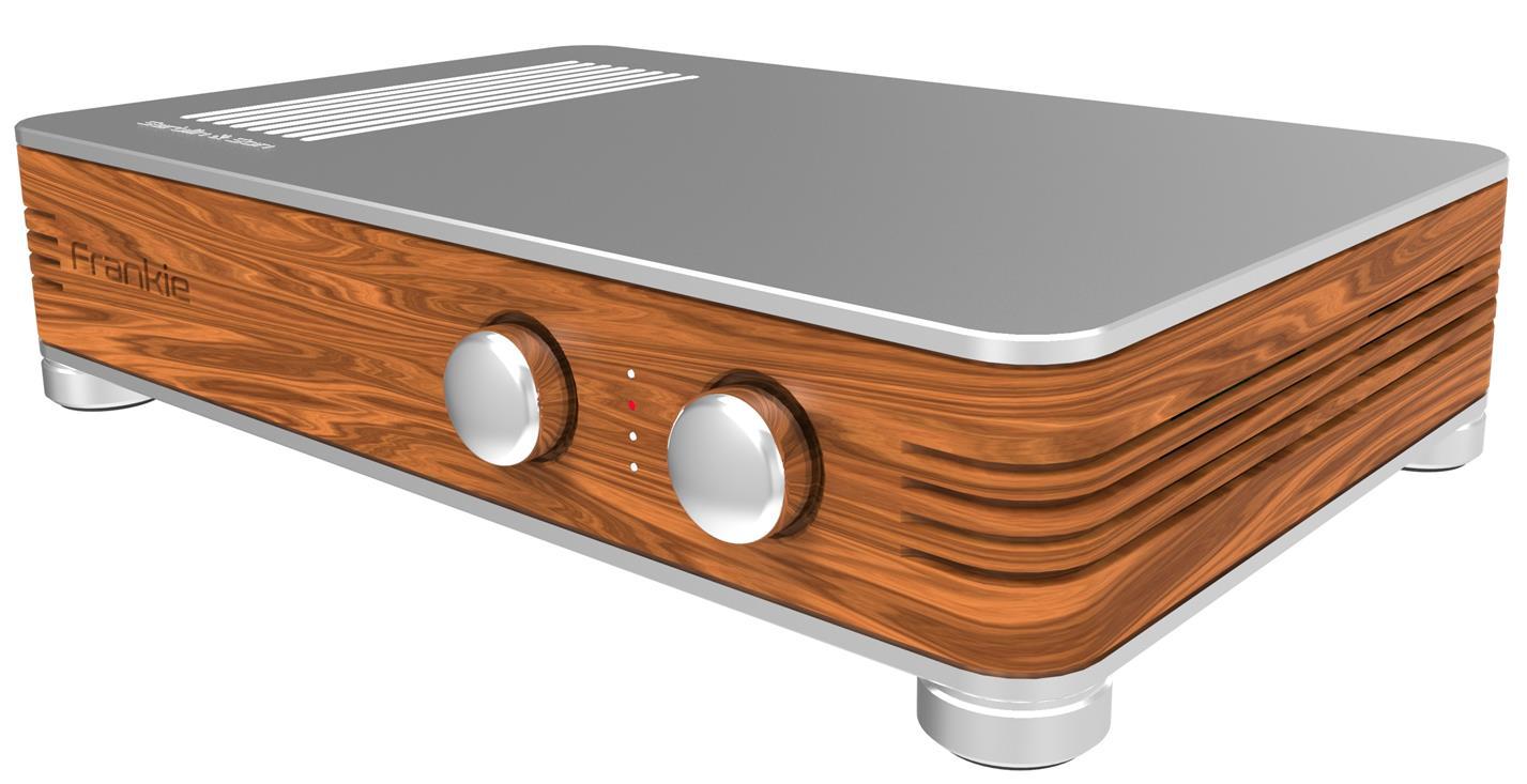 Integrated amplifier high resolution
