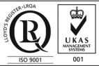 ISO9001 and UKAS Sercrisa