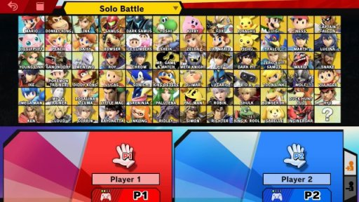 Super Smash Bros all characters