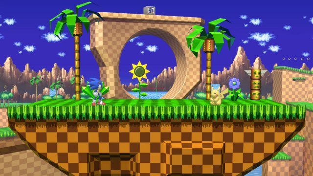 Green Hill Zone Super Smash Bros Ultimate Serebii Net