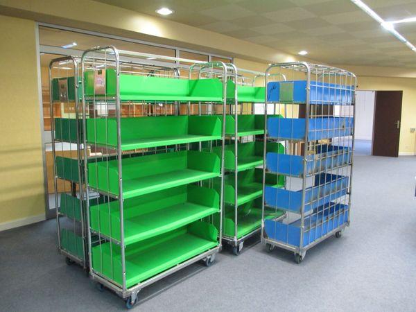 Bibliothèques roulantes