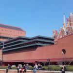 British Library, vue extérieure