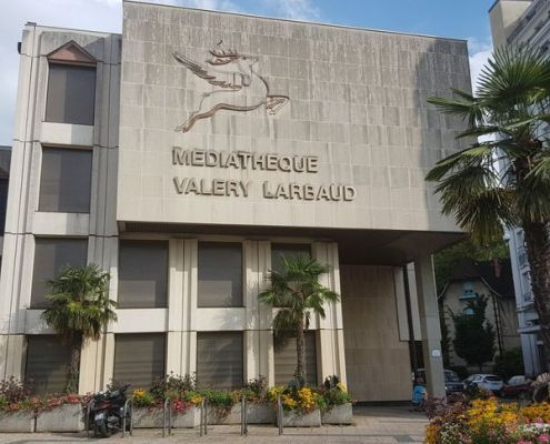 Médiathèque Valery Larbaud, Vichy