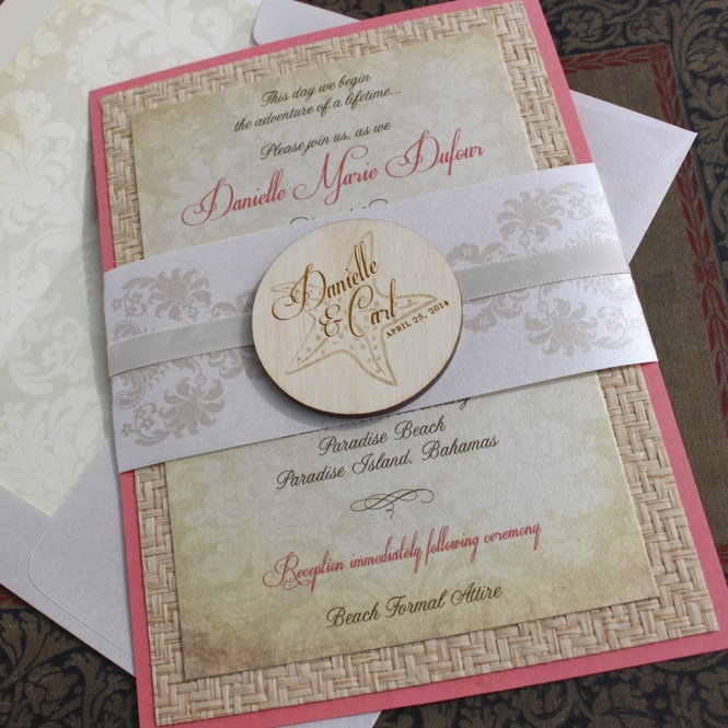 Cardstock Wedding Invitations