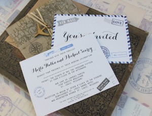Postcard Wedding Invitations And Alluring Layout Ideas To Create Your Invitation Card 2