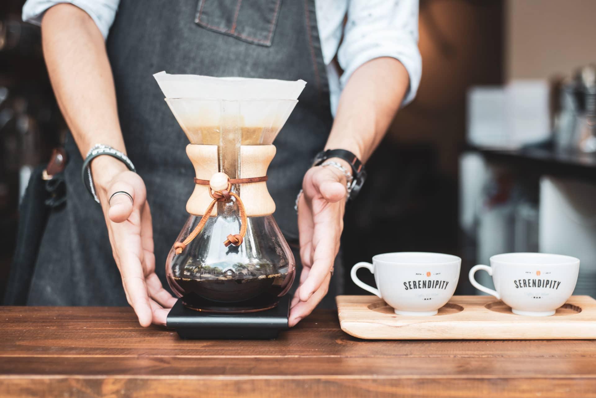 cafe de especialidad menu