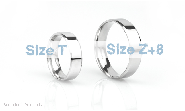 What Is The Largest Wedding Ring Size For Men Z Ring Sizes