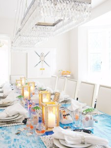 Beach tablesetting