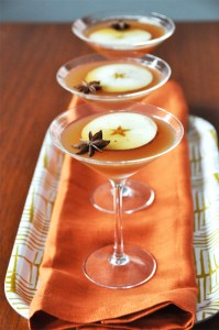 Floating star martini