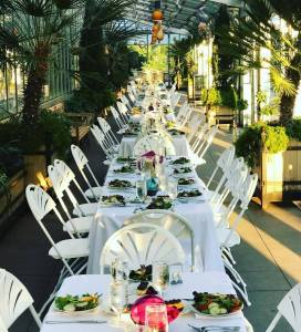 Hosting your summer company event at a nice outdoor venue will change up the scenery--literally.