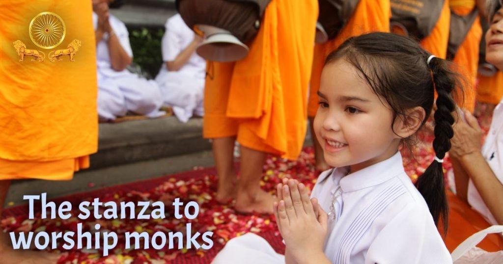 Okasa Vandami! Asking for Forgiveness & Sharing Merit