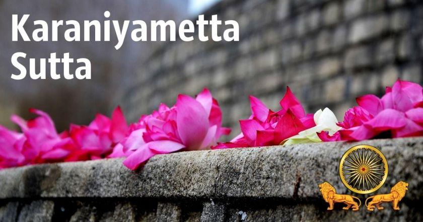 Snp 1.8 Karaniyametta Sutta